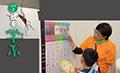 「蚊を学ぶ」エリア<br>「蚊」ってどんな生き物?その種類や分布、蚊が媒介する病気などを学べるエリア。 「蚊学教室」では、専門家の方々によるミニステージも実施。